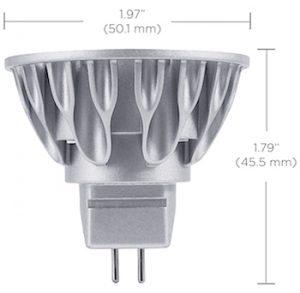 la lampara Soraa VIVID MR16 - GU5.3