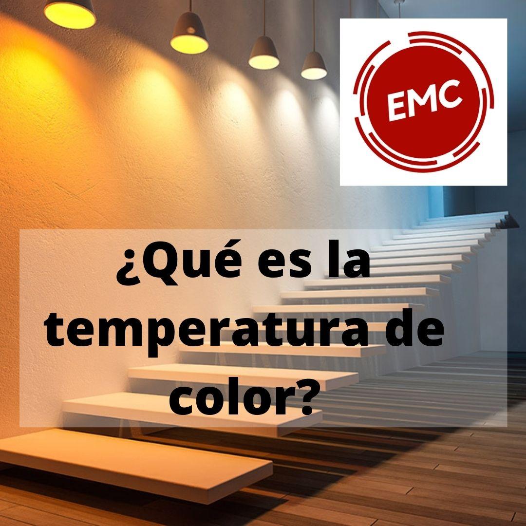 Que es la temperatura de color de la luz