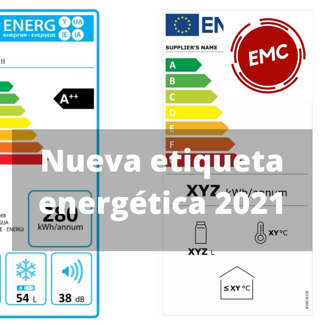 Nueva etiqueta energética 2021